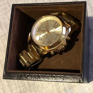 Michael Kors large faced women's watch